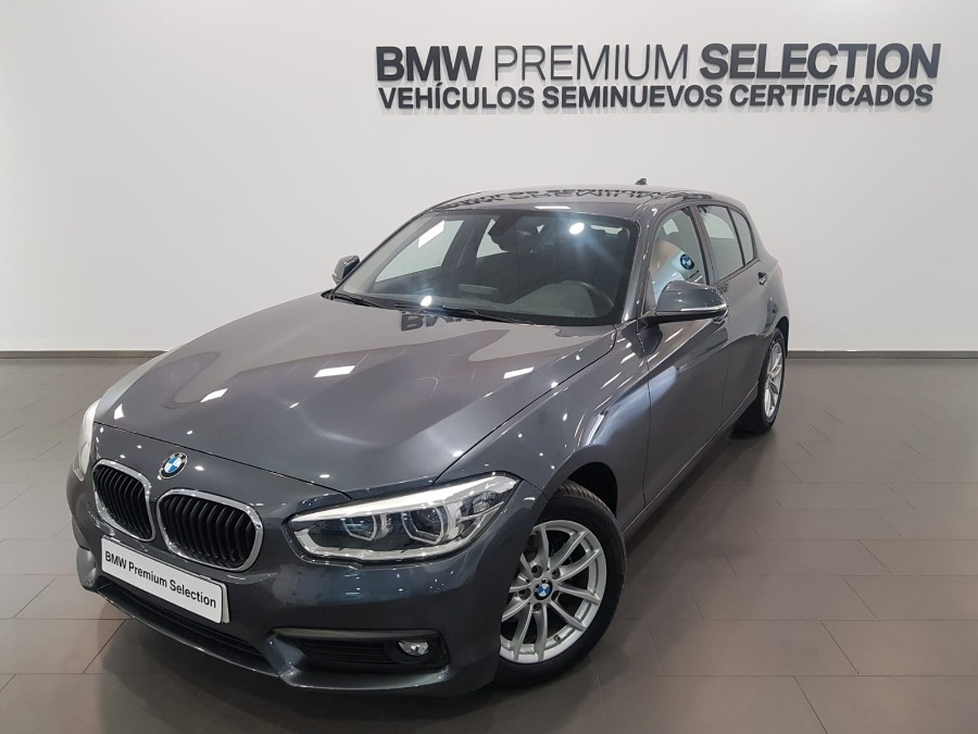 BMW Serie 1 Gris / Plata Diesel Manual Berlina 5 puertas 2019