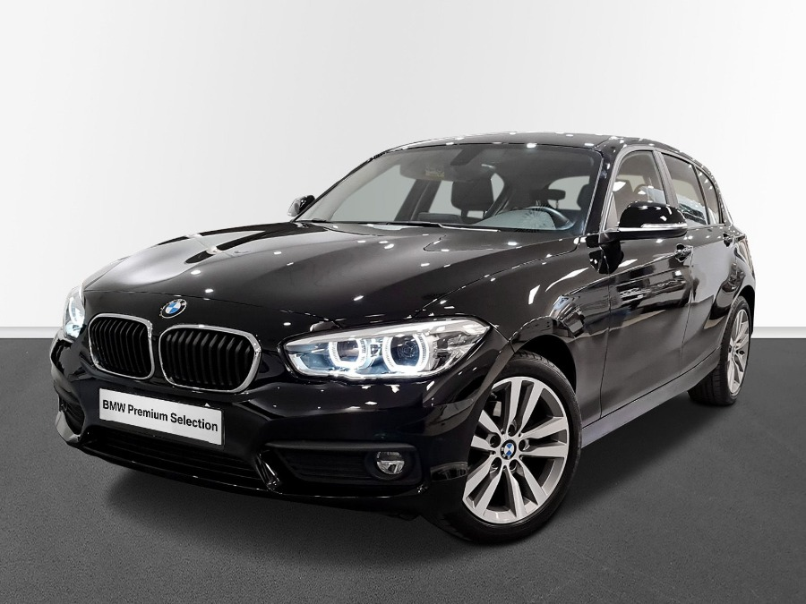 BMW Serie 1 Negro Gasolina Automático Berlina 5 puertas 2019
