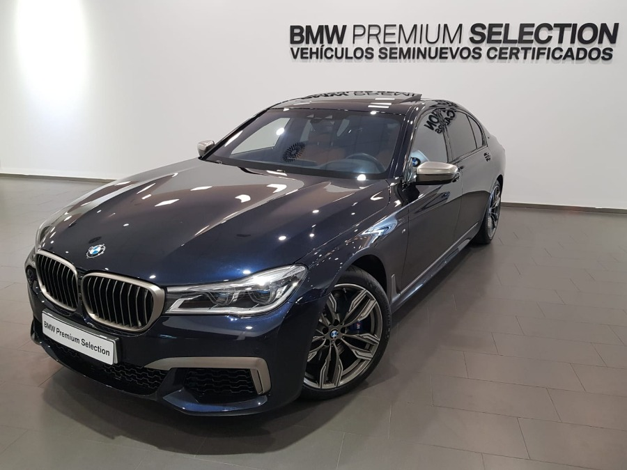 BMW Serie 7 Negro Gasolina Automático Berlina 4 puertas 2017