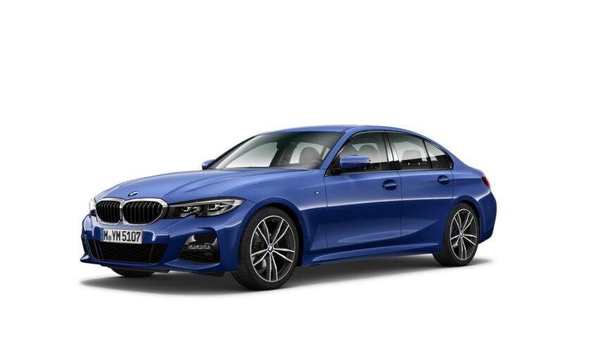 BMW Serie 3 Azul Diesel Automático Berlina 4 puertas 2019