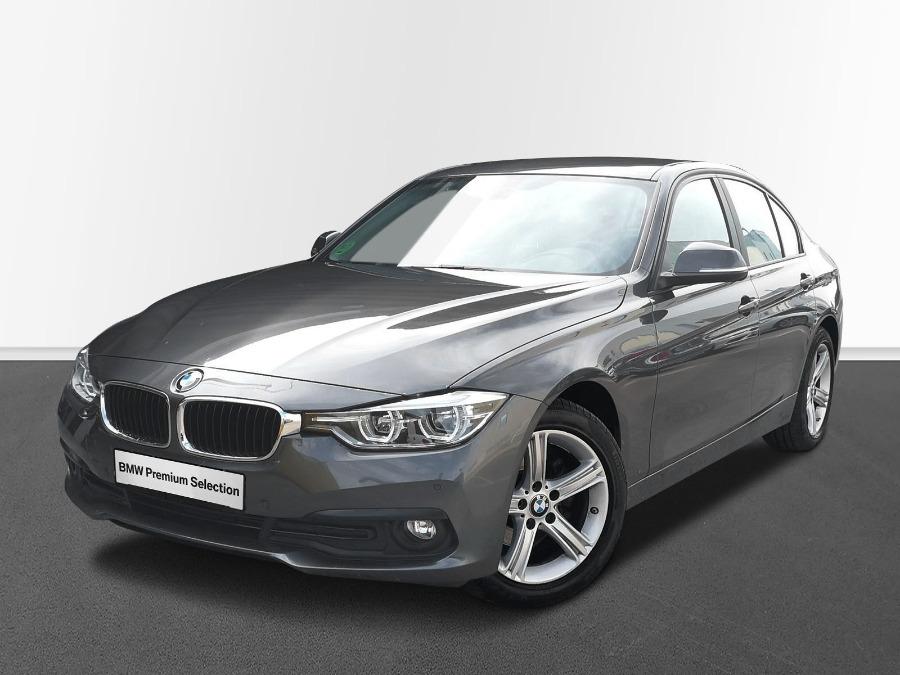 BMW Serie 3 Gris / Plata Diesel Automático Berlina 4 puertas 2017