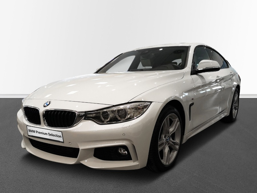 BMW Serie 4 Blanco Diesel Automático Berlina 5 puertas 2017