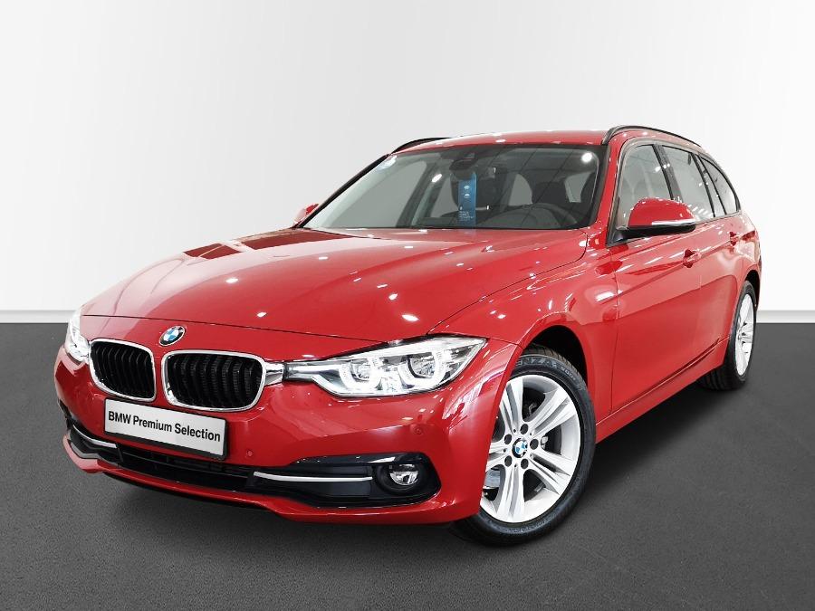 BMW Serie 3 Rojo Diesel Automático Familiar 5 puertas 2019
