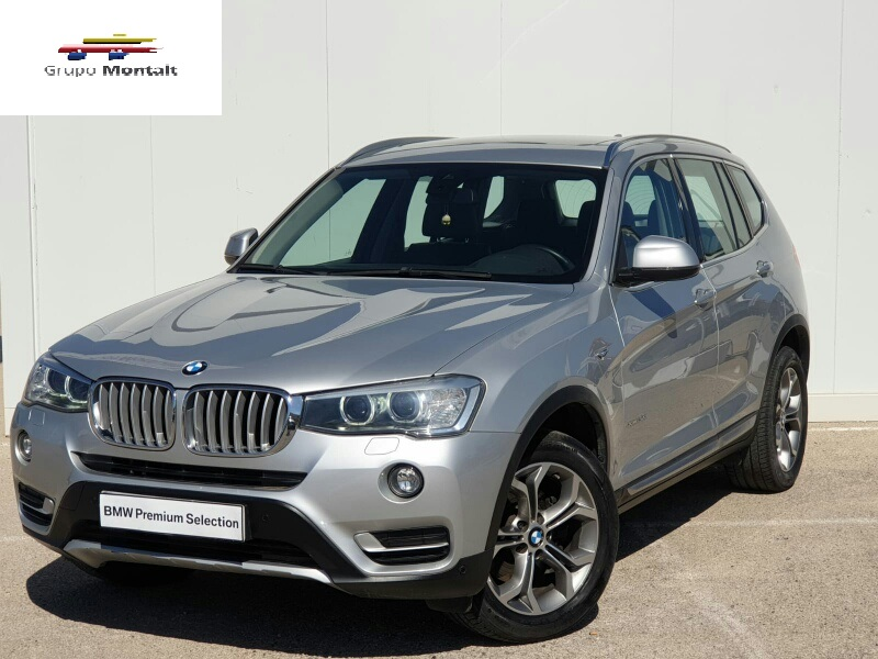 BMW X3 Gris / Plata Diesel Automático 4x4 SUV 5 puertas 2015
