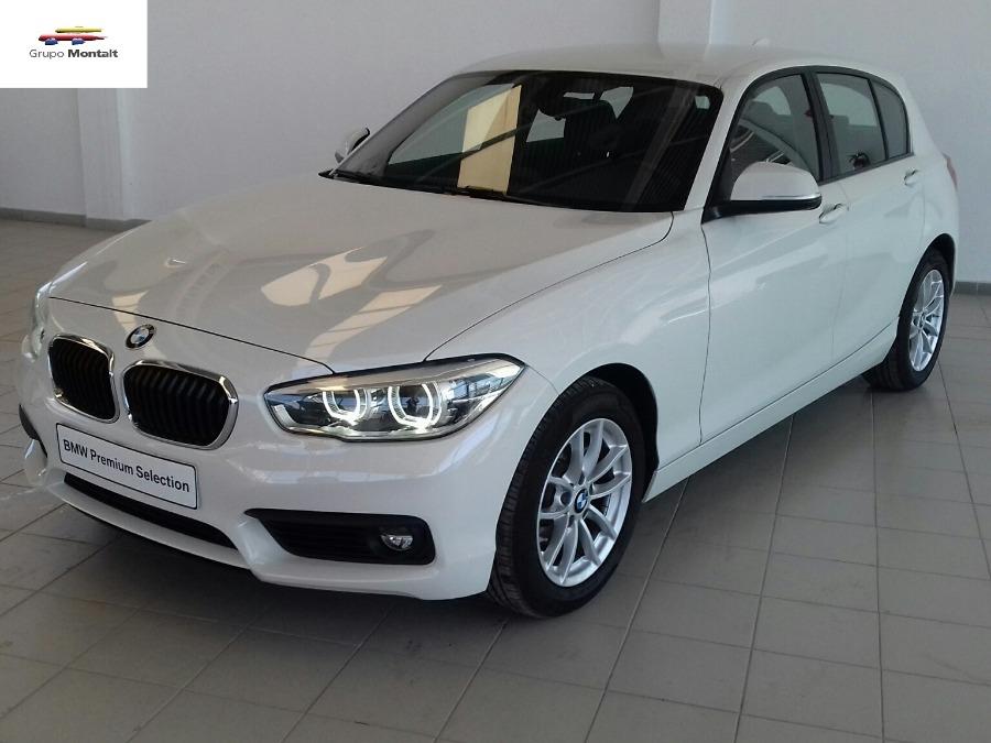 BMW Serie 1 Blanco Diesel Automático Berlina 5 puertas 2017