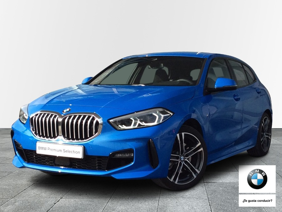 BMW Serie 1 Azul Gasolina Manual Berlina 5 puertas 2020