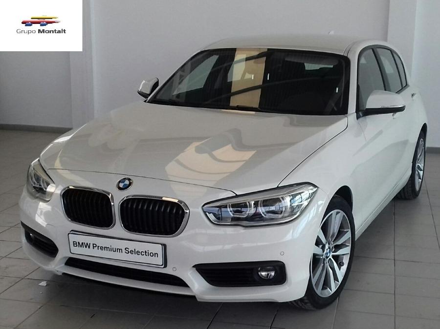 BMW Serie 1 Blanco Diesel Automático Berlina 5 puertas 2016