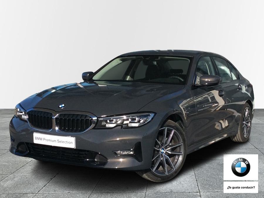 BMW Serie 3 Gris / Plata Diesel Automático Berlina 4 puertas 2021
