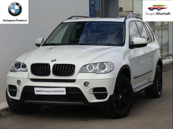 BMW X5 Blanco Diesel Automático 4x4 SUV 5 puertas 2013