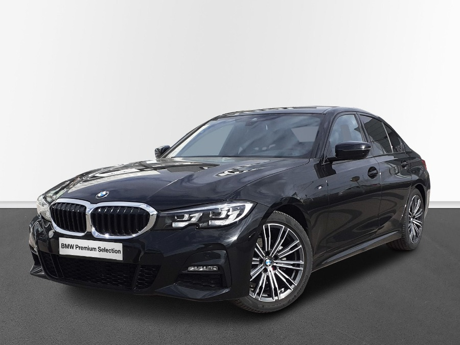 BMW Serie 3 Negro Diesel Automático Berlina 4 puertas 2021
