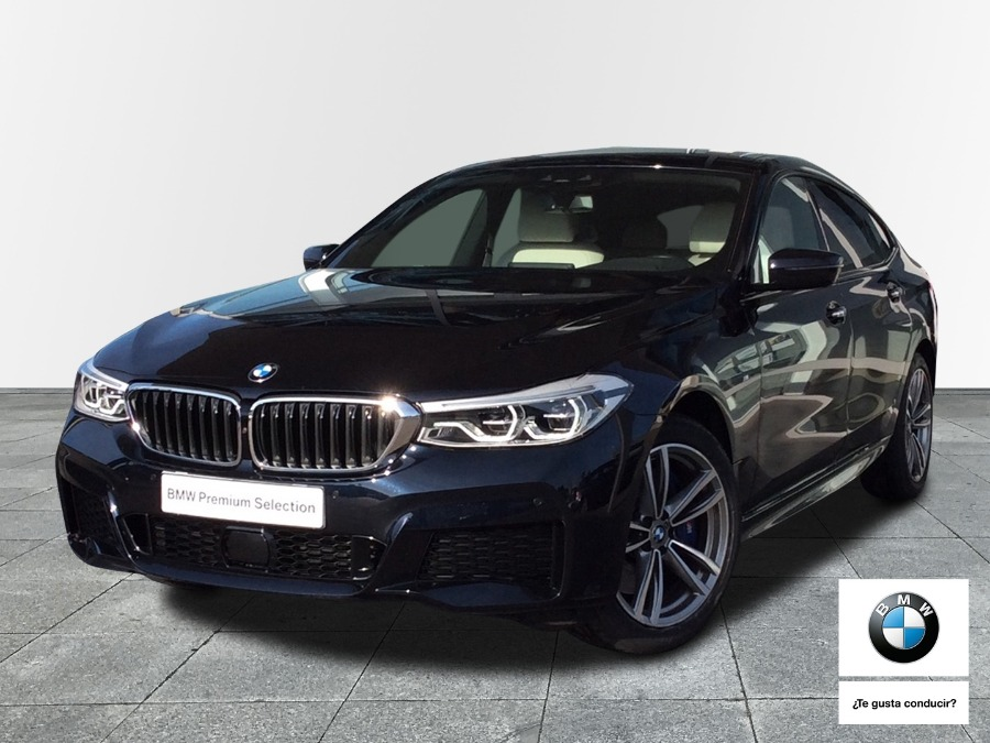BMW Serie 6 Negro Diesel Automático Berlina 5 puertas 2020