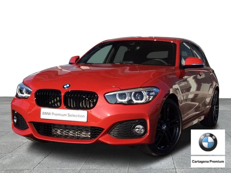 BMW Serie 1 Rojo Diesel Manual Berlina 5 puertas 2021