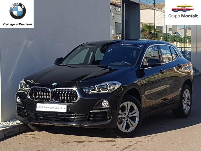BMW X2 Negro Diesel Automático 4x4 SUV 5 puertas 2018