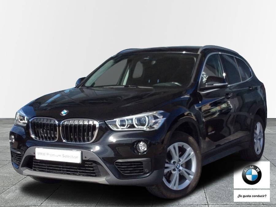 BMW X1 Negro Diesel Automático 4x4 SUV 5 puertas 2016
