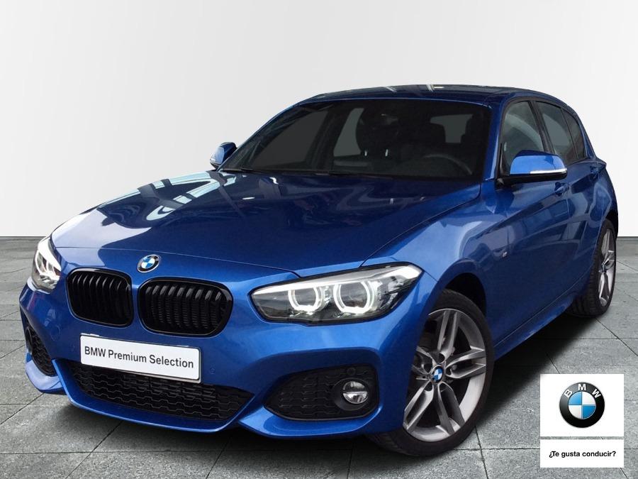 BMW Serie 1 Azul Diesel Automático Berlina 5 puertas 2018