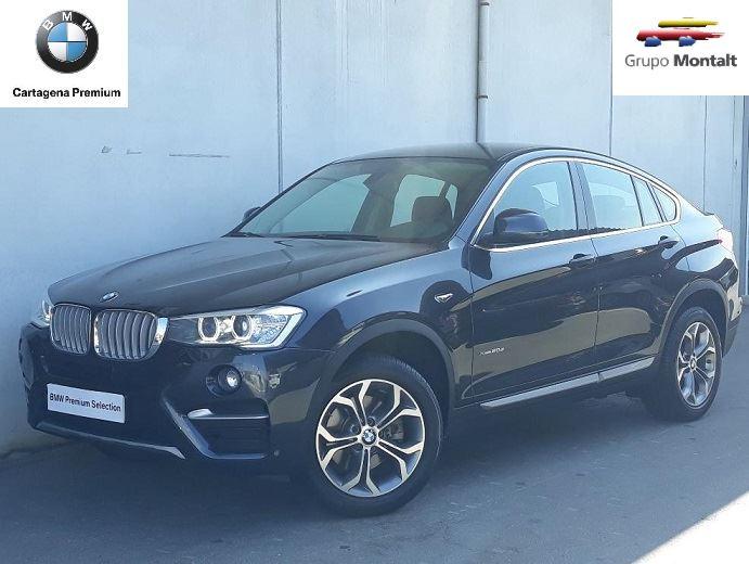BMW X4 Gris / Plata Diesel Automático 4x4 SUV 5 puertas 2015