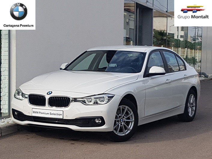 BMW Serie 3 Blanco Diesel Manual Berlina 4 puertas 2017