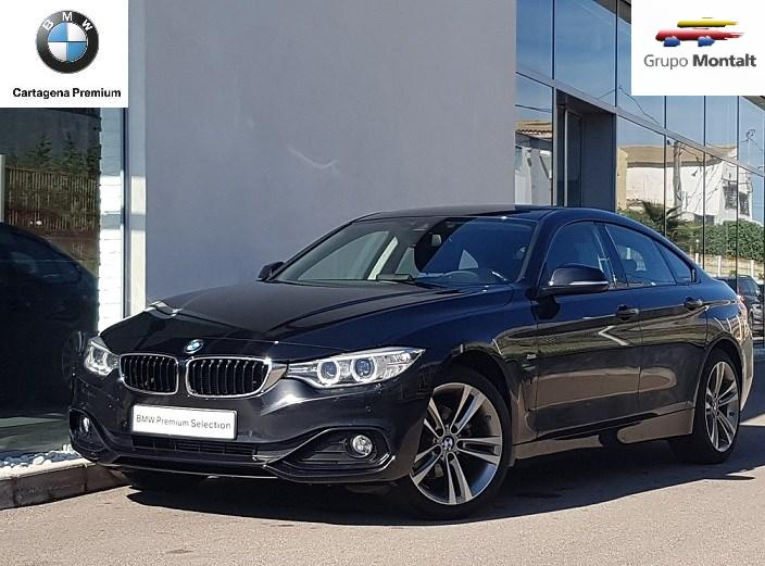 BMW Serie 4 Negro Diesel Automático Berlina 5 puertas 2016