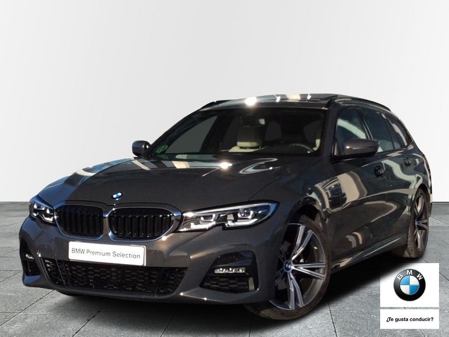 BMW Serie 3 Gris / Plata Diesel Automático Familiar 5 puertas 2021