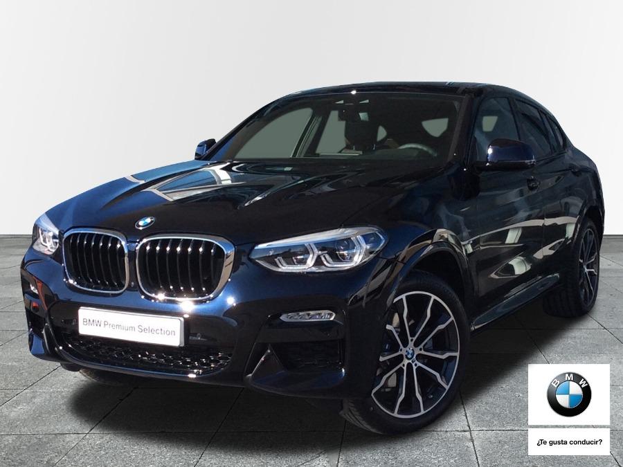 BMW X4 Azul Diesel Automático 4x4 SUV 5 puertas 2019