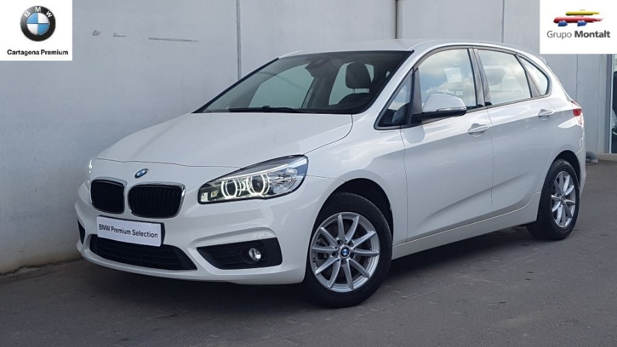 BMW Serie 2 Blanco Diesel Manual Monovolúmen 5 puertas 2015