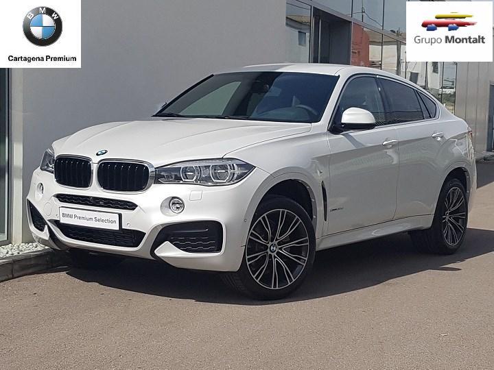 BMW X6 Blanco Diesel Automático 4x4 SUV 5 puertas 2018