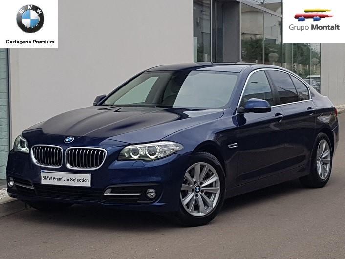 BMW Serie 5 Azul Diesel Automático Berlina 4 puertas 2016
