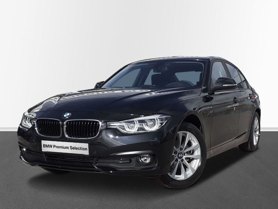 BMW Serie 3 Negro Diesel Automático Berlina 4 puertas 2019