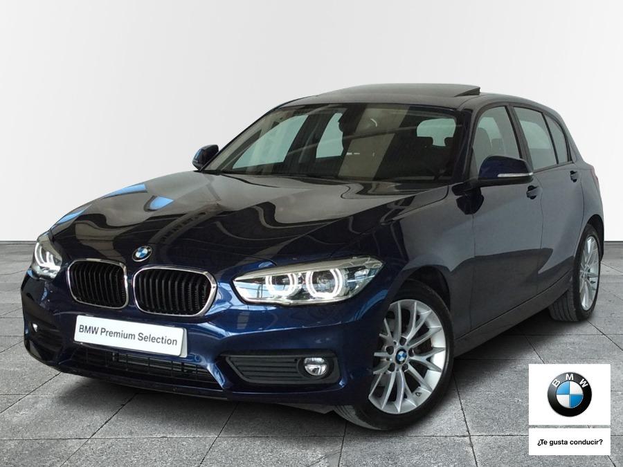 BMW Serie 1 Azul Gasolina Automático Berlina 5 puertas 2018