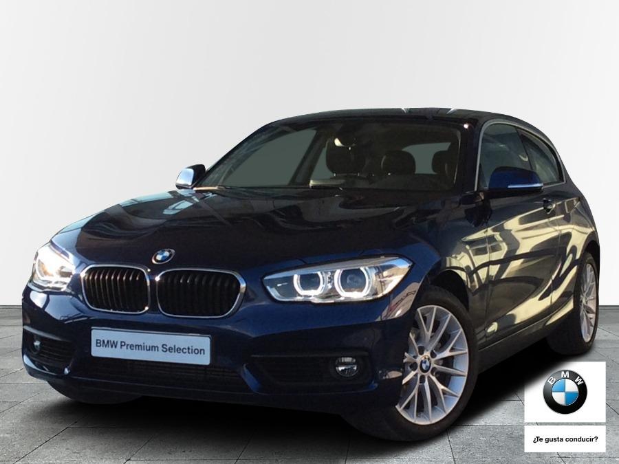 BMW Serie 1 Azul Diesel Automático Berlina 3 puertas 2018
