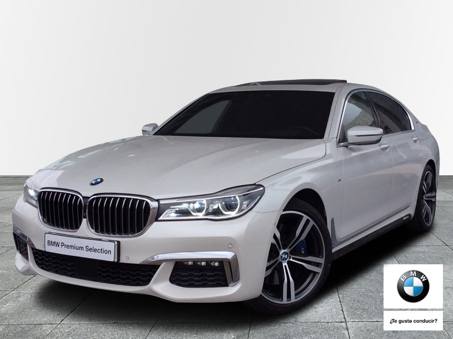 BMW Serie 7 Blanco Diesel Automático Berlina 4 puertas 2016