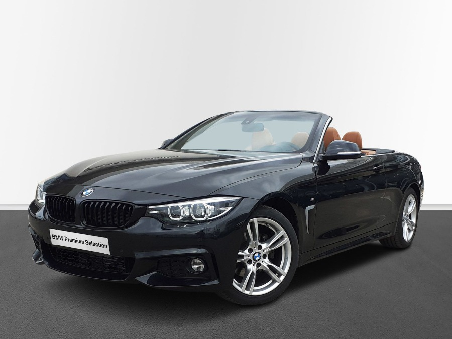 BMW Serie 4 Negro Diesel Automático Coupe 2 puertas 2021