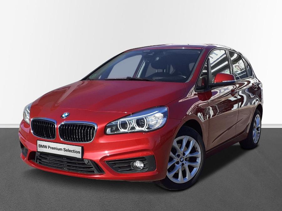 BMW Serie 2 Active Tourer Rojo Diesel Automático Monovolúmen 5 puertas 2017