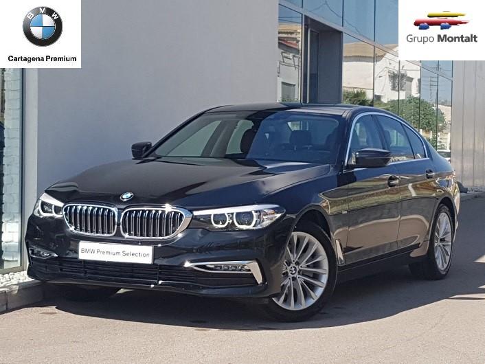 BMW Serie 5 Negro Diesel Automático Berlina 4 puertas 2018