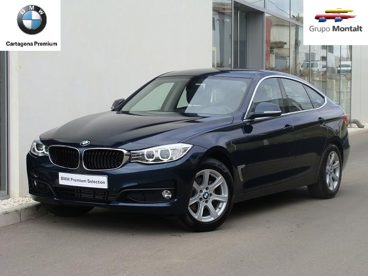 BMW Serie 3 Azul Diesel Automático Berlina 5 puertas 2015