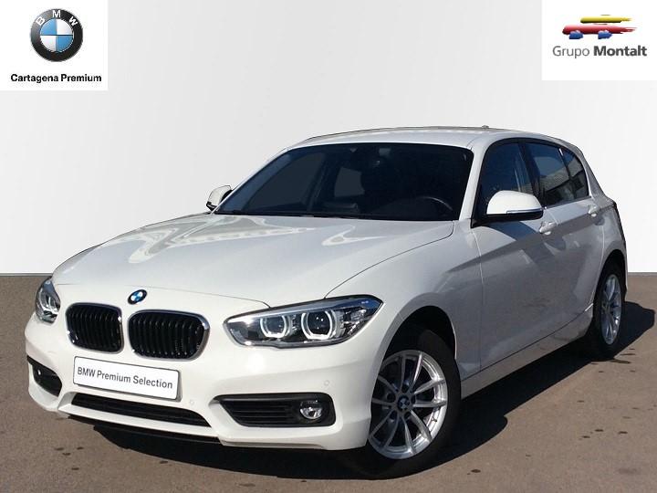 BMW Serie 1 Blanco Diesel Automático Berlina 5 puertas 2018