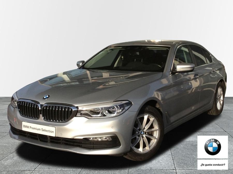 BMW Serie 5 Gris / Plata Diesel Automático Berlina 4 puertas 2018