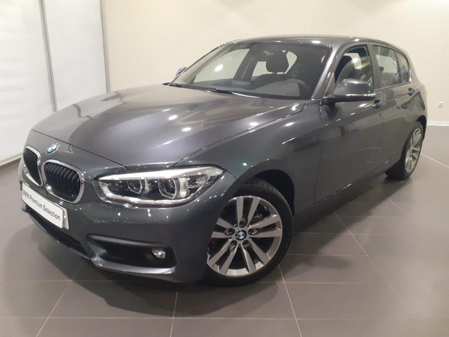 BMW Serie 1 Gris / Plata Gasolina Automático Berlina 5 puertas 2018