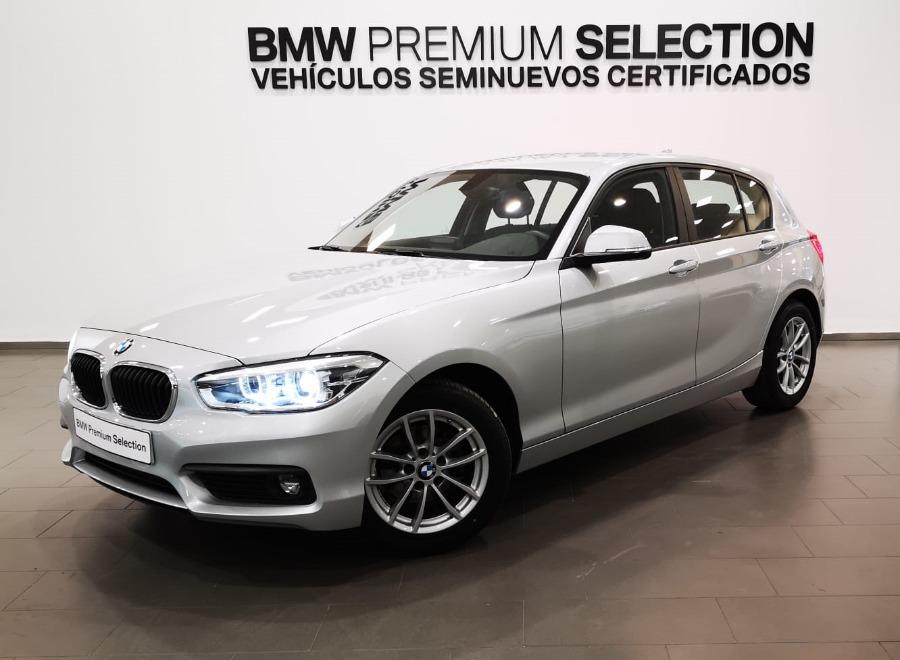 BMW Serie 1 Gris / Plata Diesel Manual Berlina 5 puertas 2018