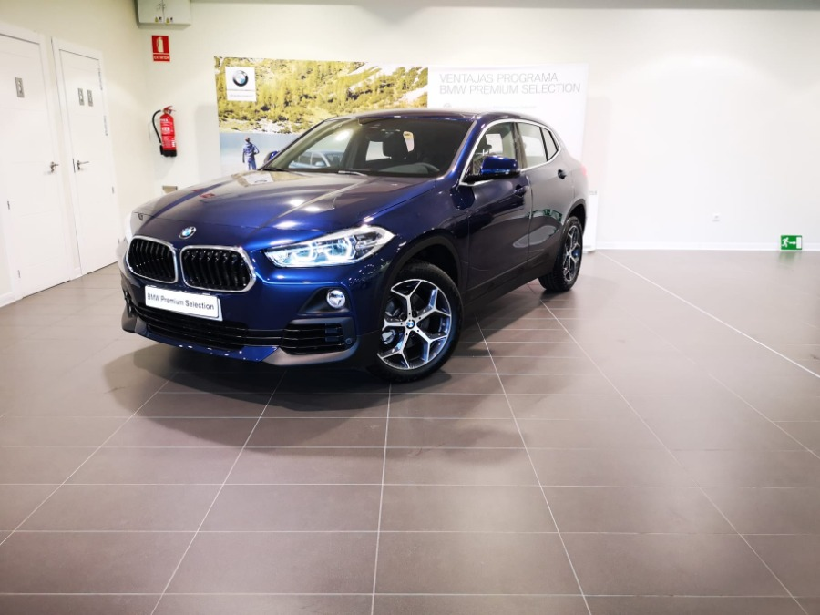 BMW X2 Azul Gasolina Automático 4x4 SUV 5 puertas 2019