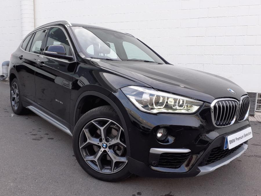 BMW X1 Negro Diesel Automático 4x4 SUV 5 puertas 2017