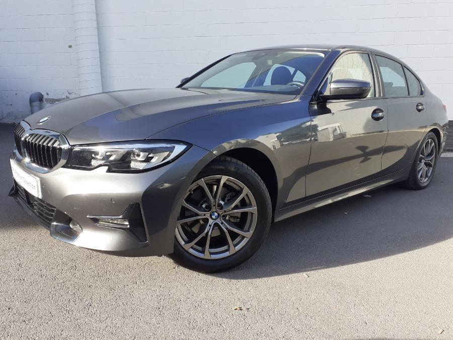 BMW Serie 3 Gris / Plata Diesel Automático Berlina 4 puertas 2019
