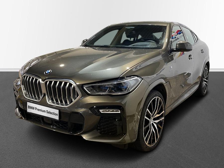 BMW X6 Verde Diesel Automático 4x4 SUV 5 puertas 2020