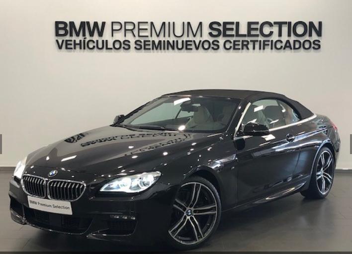 BMW Serie 6 Negro Diesel Automático Coupe 2 puertas 2018