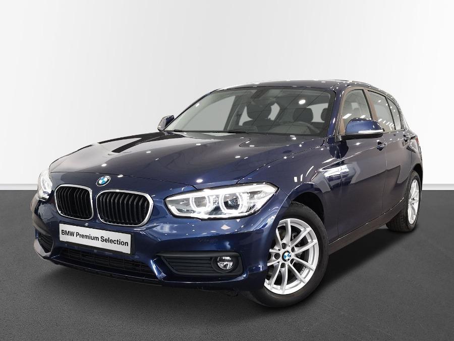 BMW Serie 1 Azul Diesel Manual Berlina 5 puertas 2018