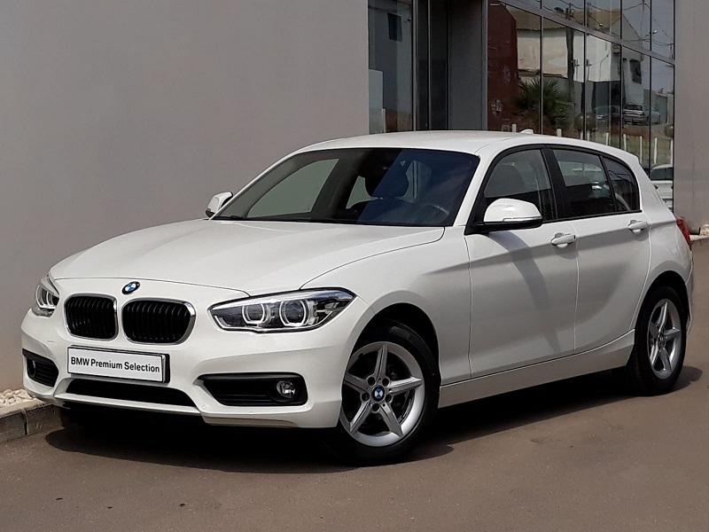 BMW Serie 1 Blanco Diesel Manual Berlina 5 puertas 2015