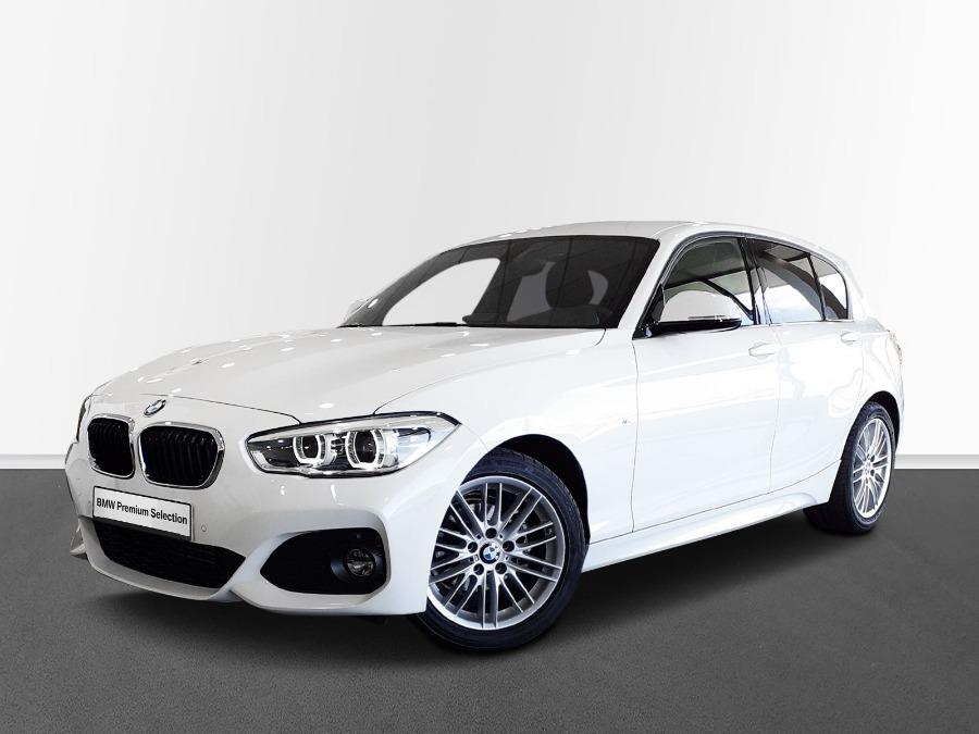 BMW Serie 1 Blanco Diesel Manual Berlina 5 puertas 2018