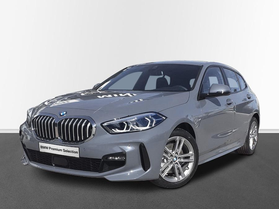 BMW Serie 1 Gris / Plata Diesel Automático Berlina 5 puertas 2021
