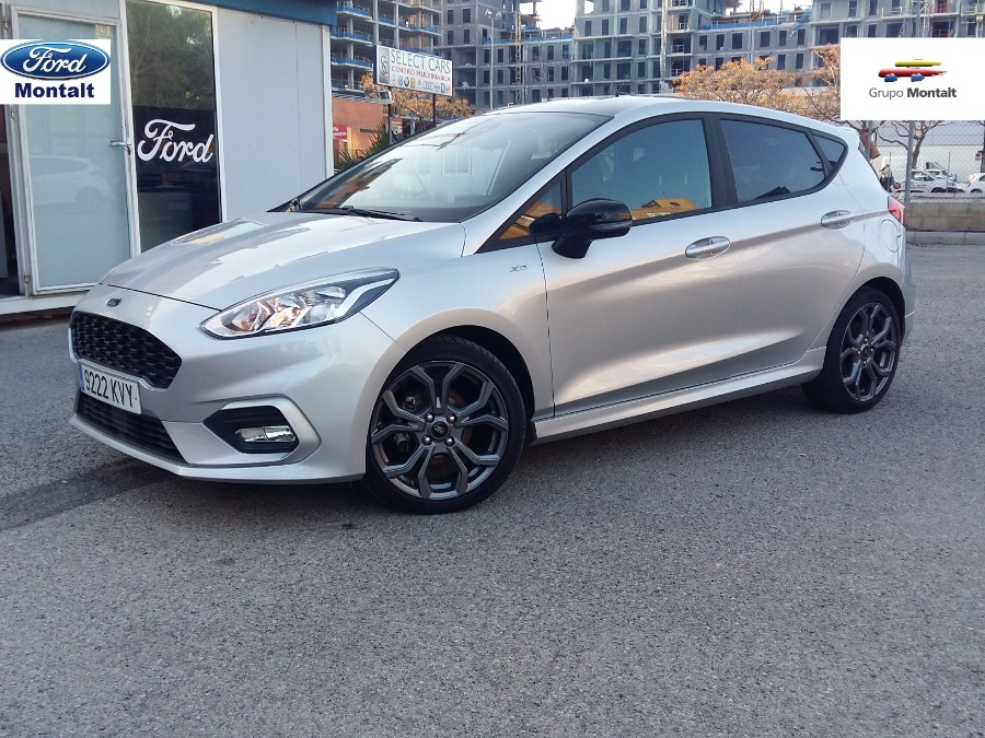 FORD Fiesta Gris / Plata Gasolina Manual Berlina 5 puertas 2019