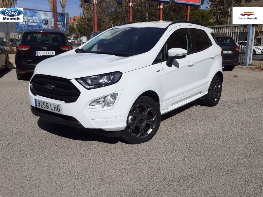 FORD EcoSport Blanco Gasolina Manual 4x4 SUV 5 puertas 2020